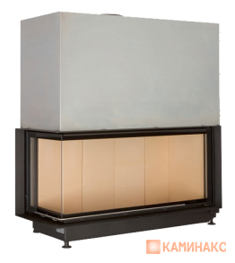 Architektur-Kamin ECK 53/121/50  Left Lifting door